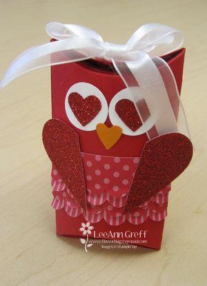 Big Shot class owl valentine