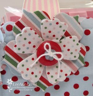 Candy cane flower