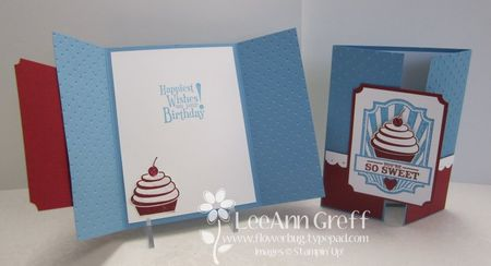 April Sweet Cake cards
