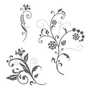 Flowering flourishes set