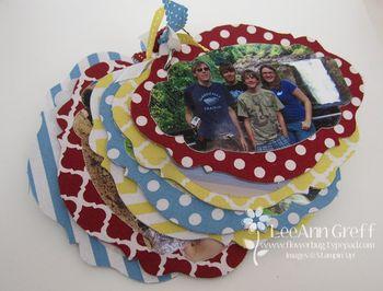 Photo chipboard album