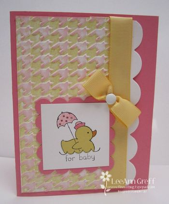Jan Two toned texture card