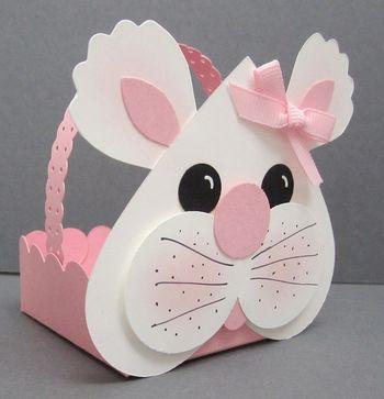 Punch art bunny small