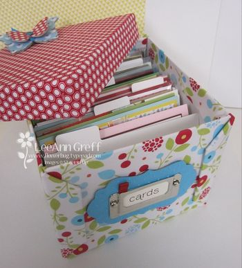 Summer Smooches card box open