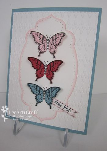 Papillion potpourri swap workshop card