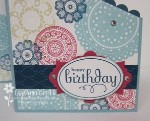 July tri-fold front close up