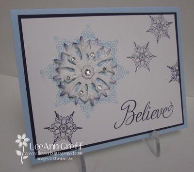 Believe snowflakes