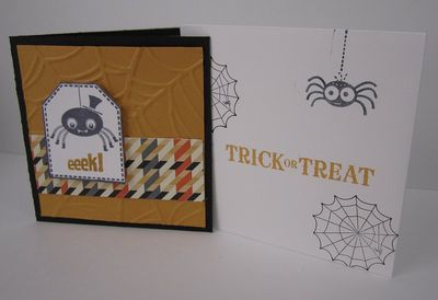 Carey's Hallween card front