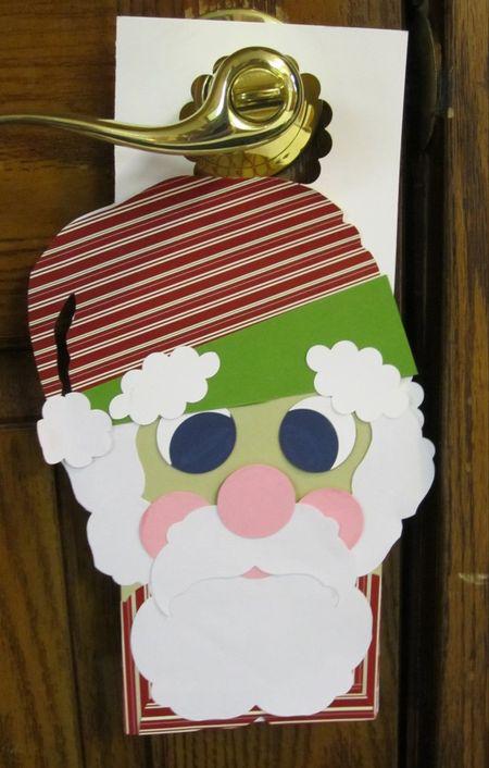 Christines santa hanger