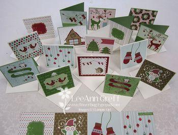 Snow festival 3 X 3 cards