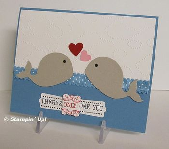 Candy's whales card