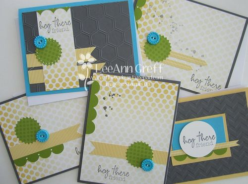 Paper pumpkin cards kit 1