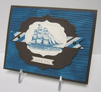 Open Sea masculine card