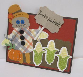 Carey's Scarecrow invite