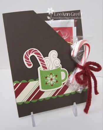 Scentsational season cocoa packet card
