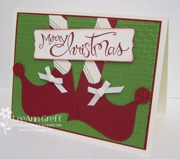 Dec club elf card