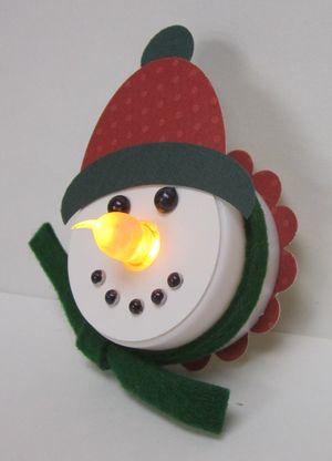 Judy's snowman light side