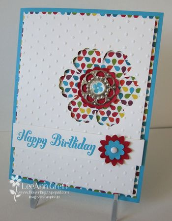 Melissa's workshop card