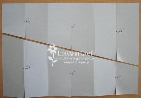 April cascading card templates