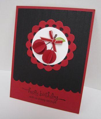 Lorri's cherry punch art