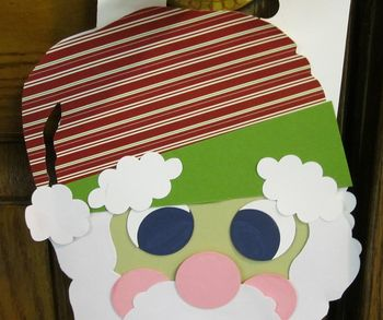 Christines santa hanger upper part