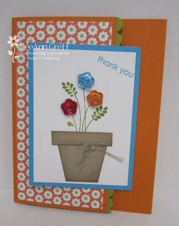 Embellished events flower pot
