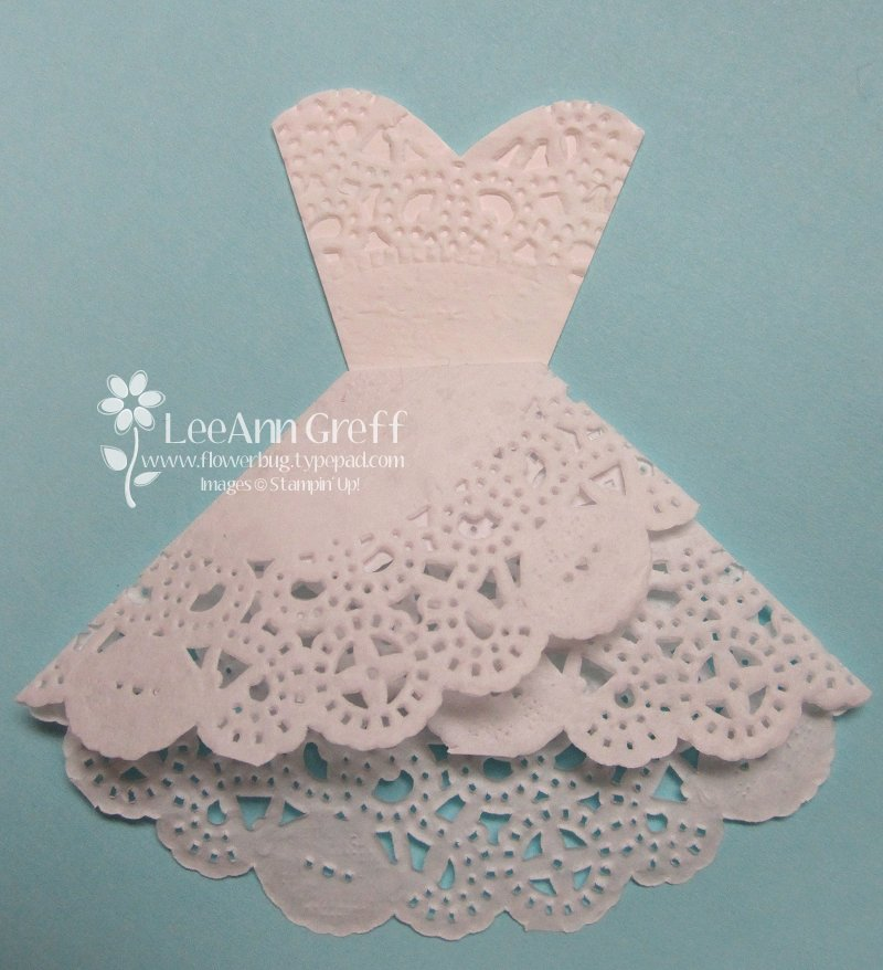 Doily Wedding Dress Tutorial