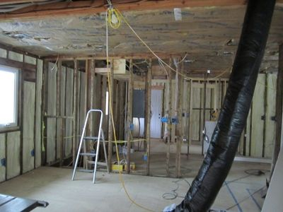 Studio room insulated