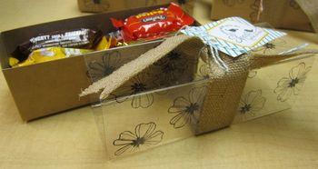 Conv treat box open