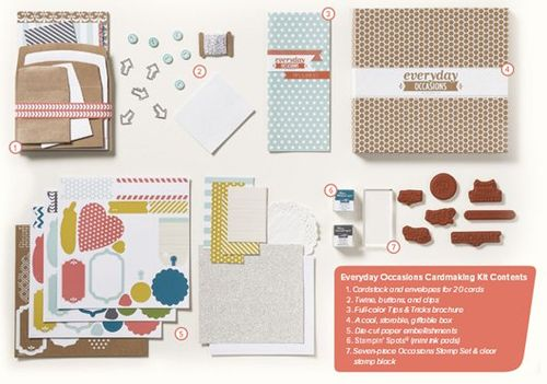 Everyday Occasions card kit