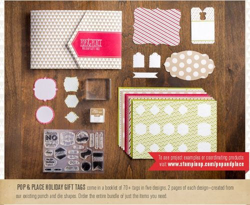 Pop & place tags