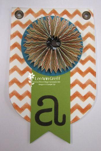 Fall Banner rosette