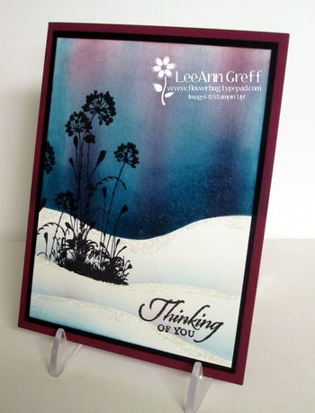Nov snowscape card