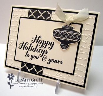 Christmas collectables vanilla black