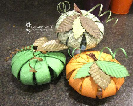 Marilyn's pumpkins