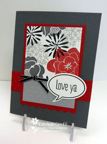 Simple stems card