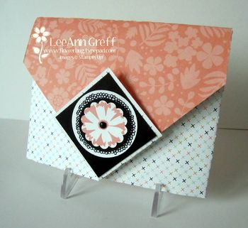 Envelope fold card