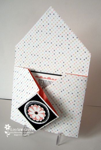 Envelope fold open