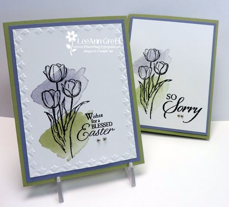 Easter Watercolor cards
