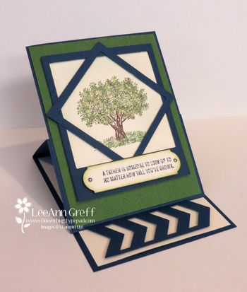 May fathers day easel card