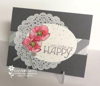 Happy Watercolor Gray Silver