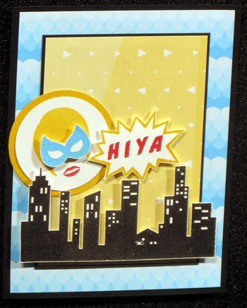 Super heros card