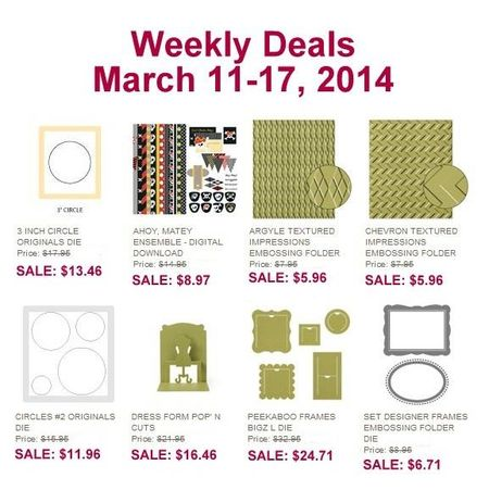 Weekly deals March 11th