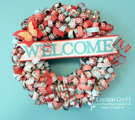 Retro Fresh wreath