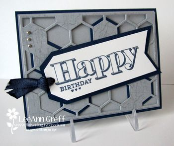 March Club Hexagon Birthday