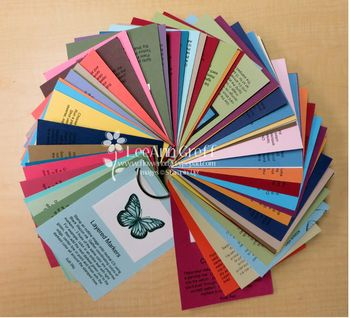 Technique class sample cards