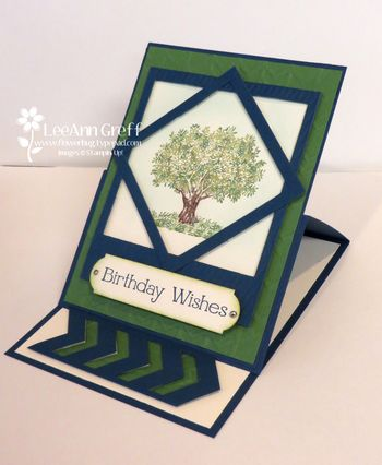 May tree easel card