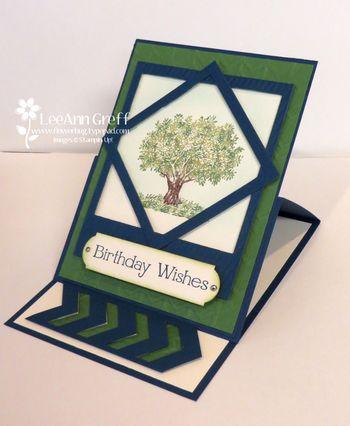 May tree easel card