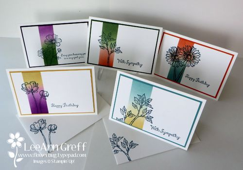 Bloom with hope notecards