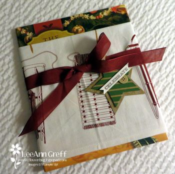 Book wrapped
